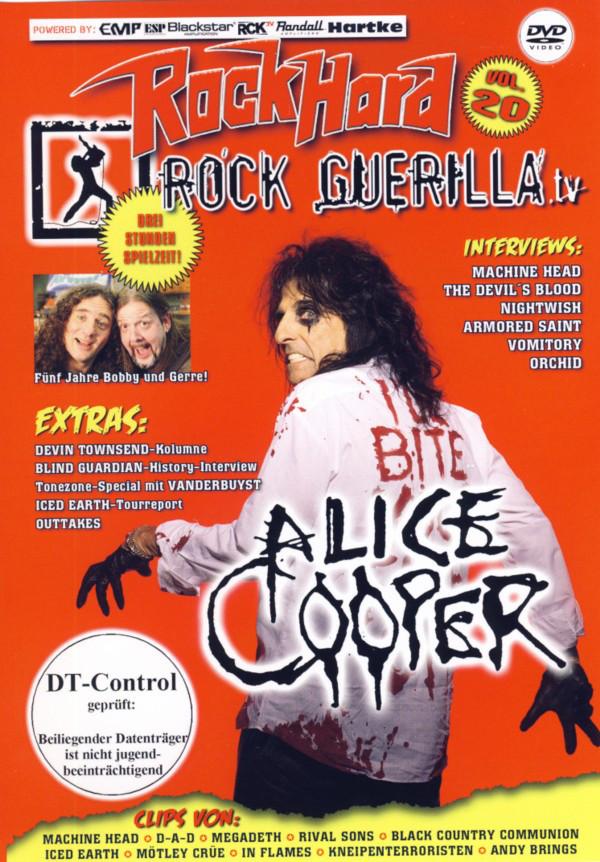 a95cc841b34 Rock Guerilla.tv Vol. 20. Features: Interview